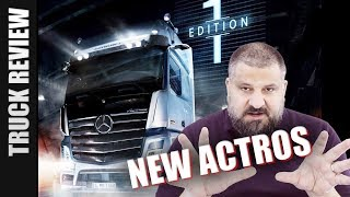 Der neue Actros 1863 Edition 1 - Truck Review (deutsch)