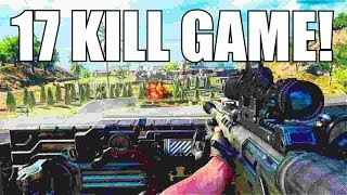 17 KILL GAME w/ SAUG! | Black Ops 4 Blackout | Xbox One X!