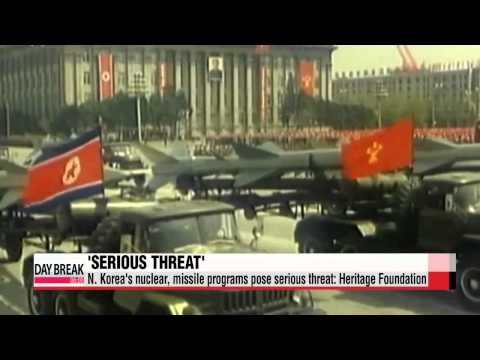 N. Korea′s nuclear, missile programs pose serious threat: U.S. think tank   &quo
