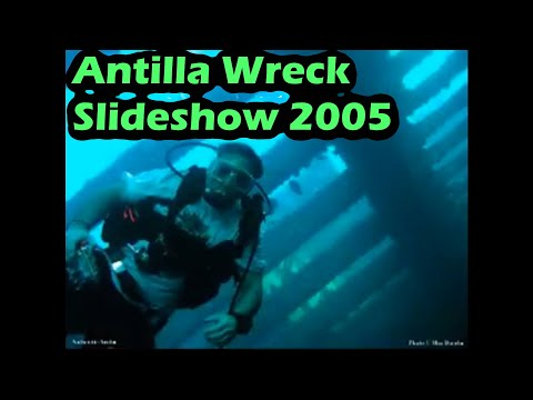 Antilla Wreck Aruba SCUBA Diving