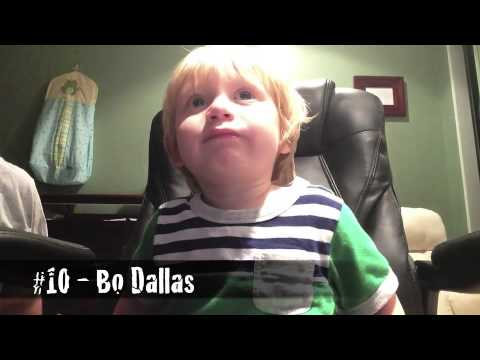 Two-year-old Names 20 Wwe Themes In Two Minutes!! video