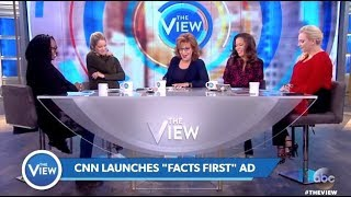 "Panel Talks CNN Ad ""Apple Not A Banana"" Targeting TRUMP (The View)"