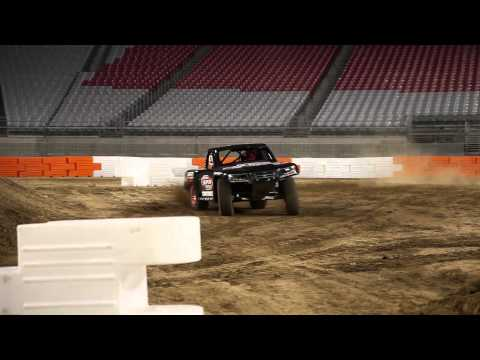 ROBBY GORDON SST Test at University of Phoenix Stadium