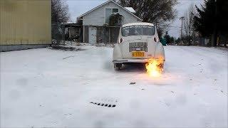 Subaru 360 Snow Hoon Flame Fart
