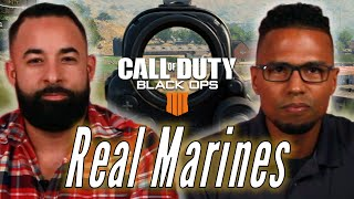 "Real Marines Try To Survive Blackout In ""Call of Duty: Black Ops 4"""