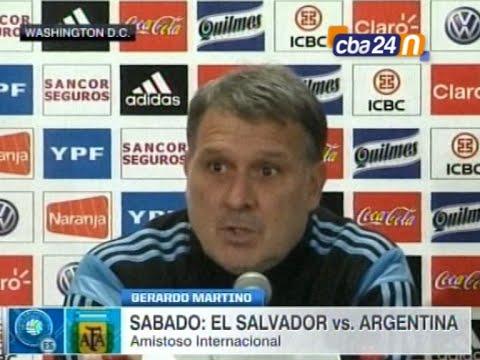 GERARDO MARTINO│PREVIA ARGENTINA EL SALVADOR