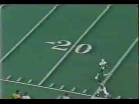 Marshall Thundering Herd - Moss 90yd TD vs Army 1997 Video