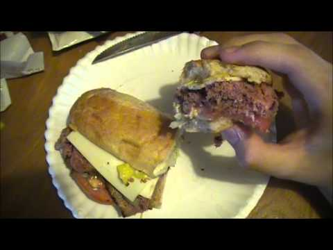 Arbys Angus Cool Deli Sandwich - Fast Food Review