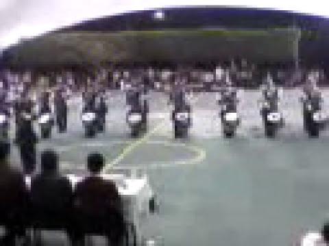 Banda de guerra cbta 168 (espartaqueada 2010) .3gp