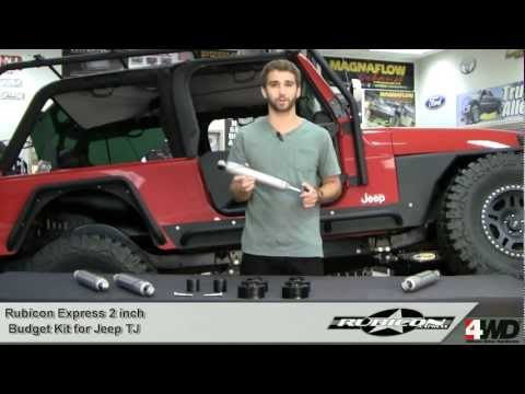 Rubicon Express - 2 inch Economy Kit for Jeep TJ - Jeep Lift Kits & Suspension