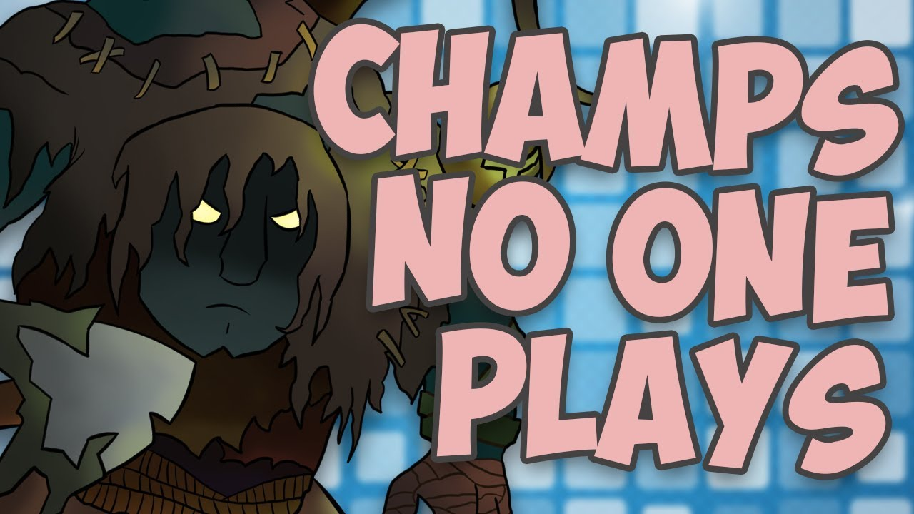 Champions NO ONE Plays Anymore