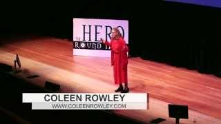Coleen Rowley at Hero Round Table 2014