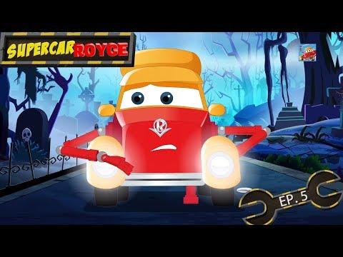Supercar Royce   Car cartoons   Naughty car cartoons   Friendly ghost car cartoon