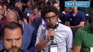 Cristiano Ronaldo's Juventus Press Conference - BVT Sports