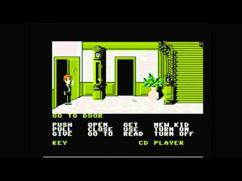 CGR Undertow - MANIAC MANSION for NES Video Game Review