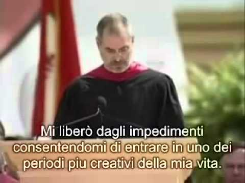 Discorso di Steve Jobs ai neolaureati di Stanford (sottotitoli in italiano)
