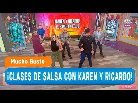 ¡Clases de salsa con Karen y Ricardo! - Mucho gusto 2018