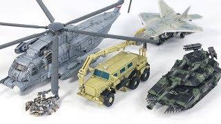 Transformers Movie Studio Series Decepticon Blackout Starscream Brawl Bonecrusher Vehicle Robot Toys