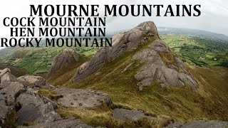 MOURNE MOUNTAINS - COCK,HEN,ROCKY MOUNTAIN