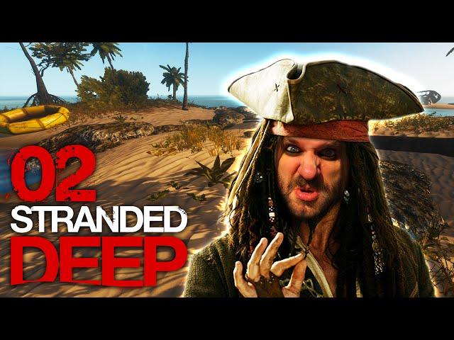 STRANDED DEEP [S01E02] - Fluch der Karibik ★ Let's Play Stranded Deep