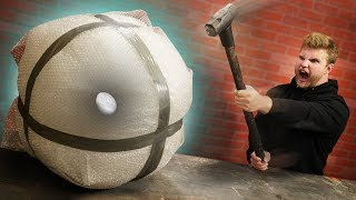 Can 100 Layers Of Bubble Wrap Protect An Egg?!