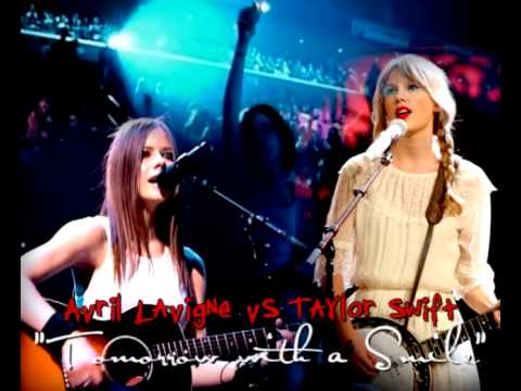 Avril Lavigne vs Taylor Swift - Tomorrow With a Smile [Audio Official]