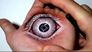 Open a DARK EYE on my Hand: 3D aRT