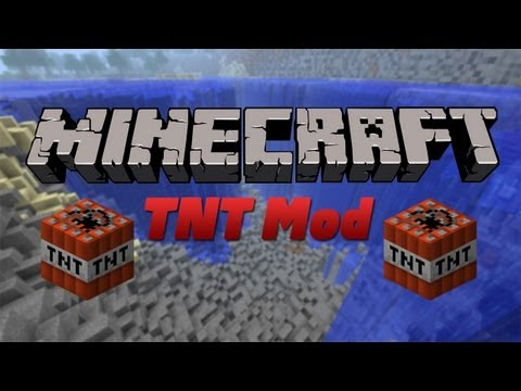 Minecraft - TNT Mod Review (1.4.5)