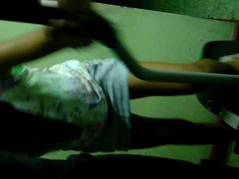 Chica Sexy Perreando En Escaladora video