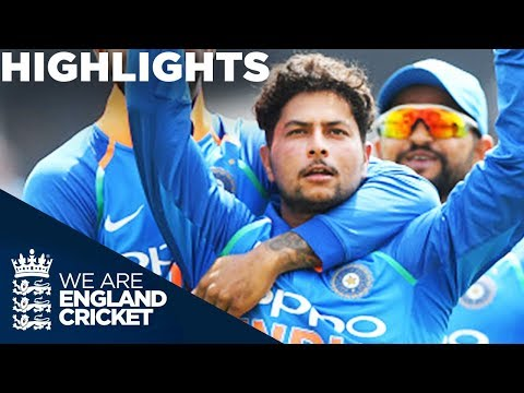 Kuldeep & Rohit Dominate England | England v India 1st ODI 2018 - Highlights