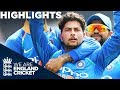 Kuldeep & Rohit Dominate England | England V India 1st ODI 2018   Highlights