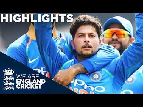 Kuldeep & Rohit Dominate England | England v India 1st ODI 2018 - Highlights