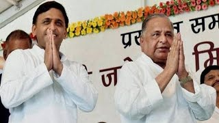 Samajwadi Party drama ends, Mulayam re inducts Akhilesh