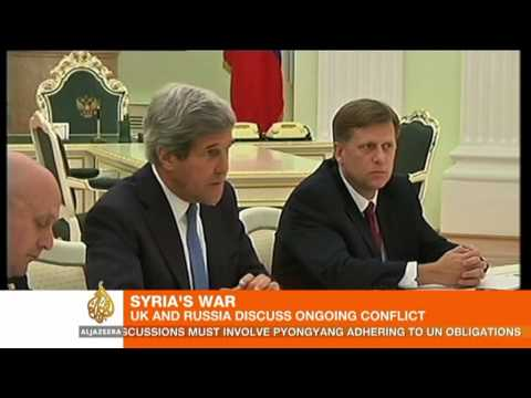 UK and Russia 'can overcome Syria differences'