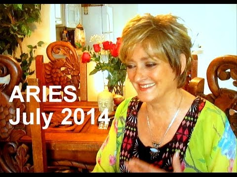 ARIES - JULY 2014 Astrology Forecast - Karen Lustrup