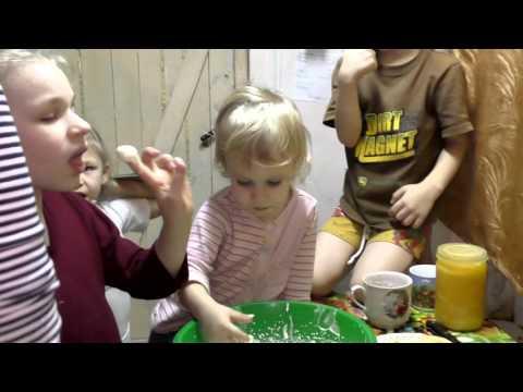 Шарлотка  супер пирог. Многодетная семья.