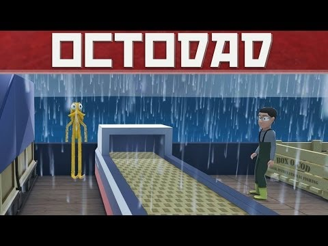 Rage vs Octodad! Tentacle Ninja of Shark Wrestling Captain!