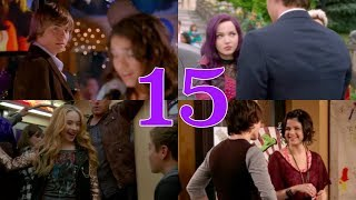 "Top 15 Disney Channel ""Love At First Sight"" Moments!!"