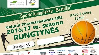 TVK tiesiogiai . RKL A . Tauragės KK - Klaipėdos LCC