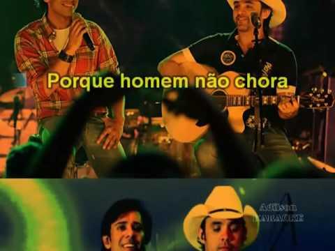 Guilherme & Santiago   Por Que Homem Não Chora