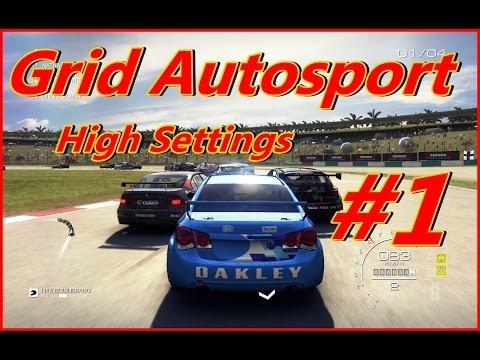 GRID autosport high settings gameplay intel core i5