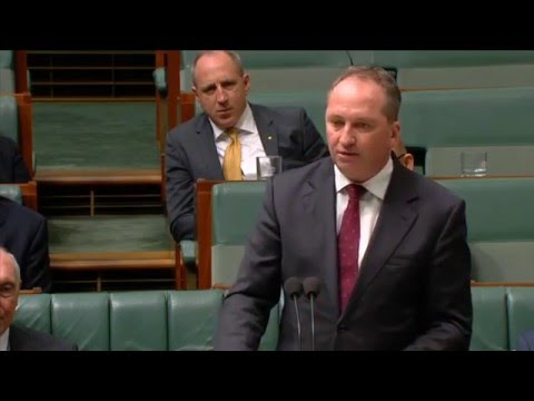 160211 Barnaby's speech saluting Warren Truss