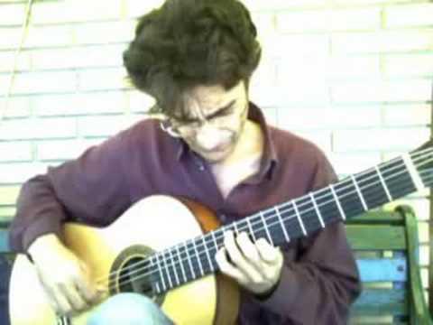 ricardo garcia tomas el abejorro - emilio pujol spanish guitar