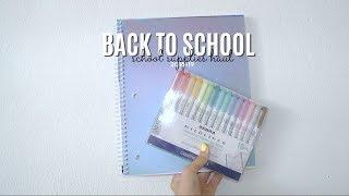 back to school: school supplies haul (no talking edition)