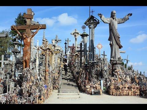 Гора Крестов - священное  место в Литве.