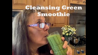 cleansing green protein smoothie recipe for weight loss