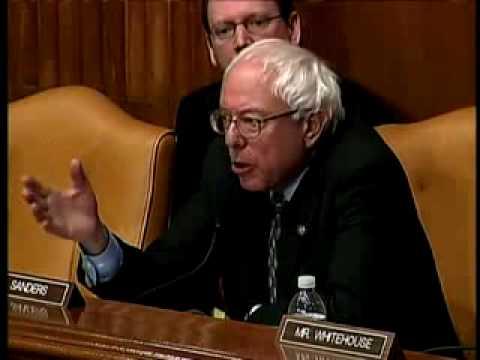 Senator Sanders asks Bernanke WHERE IS THE MONEY!!!