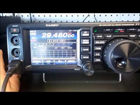 YAESU FT-991 10M C4FM Test