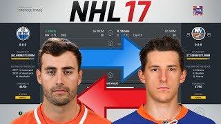 NHL 17 - EBERLE FOR RYAN STROME TRADE SIMULATION