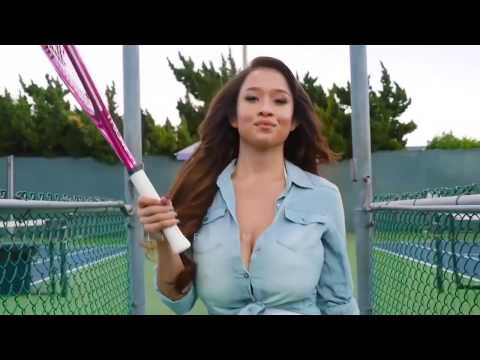 Hot Sexy Asian Girl A Bad playing Tennis (NSFW)